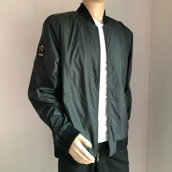5af949c9c18d PUMA x XO (The Weeknd) Nylon Bomber Jacket Black